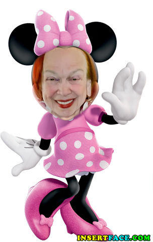 Dr. Goldstein as Minnie Mouse